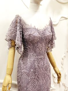 customade sparkling full lace purple dress . . . specially made for our customer Mrs. Sarah . . We are thinking of an elegant and feminine design dress , truly happy to see the result . . #meltatan #fashiondesign #fashiondesigner #eveningdress #dress #style #fairytale #hautecouture #hautecouturenotebook #lace #dentelle #gelin #gelinlik #purple #purpledress