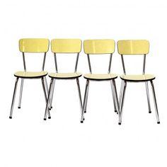 """chaise en formica vintage années 60 """"Bergamote"""" #rienacirer #vintage"""