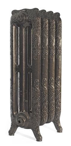 From our Rococo range. Cast Iron Radiators, Gold Powder, Powder Coating, Rococo, Antique Gold, Bookends, Old Things, King, Portrait