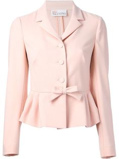 Compre Red Valentino Blazer peplum em Changing Room from the world's best independent boutiques at farfetch.com. Over 1000 designers from 60 boutiques in one website.