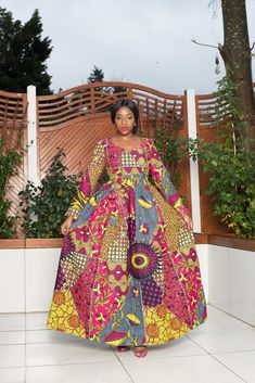 Our collection of African Style Dresses has unique designs, African fashion dresses for women and kids. Shop and save today! African Fashion Dresses, African Attire, African Dress, Ankara Dress, Dress Clothes For Women, Dresses For Sale, Latest African Styles, Latest Ankara, Shweshwe Dresses