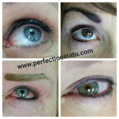 Permanent Makeup by Cheryl @ Perfectious Tatu #permanentmakeup #permanentcosmetics #eyebrows #eyeliner www.perfectioustatu.com