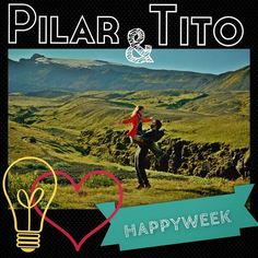 Meet Pilar & Tito, the #creators & #couple behind #HappyWeek!! Thanks to them the HappyWeek game was born. Ultimate power couple. heart emoticon  #startup #powercouple #entrepreneurs #relationshipgoals #love #idea #motivation #goals #action #results #happiness