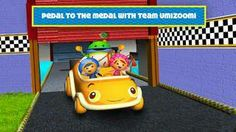 New app for kids - Team Umizoomi: Math Racer for iPhone