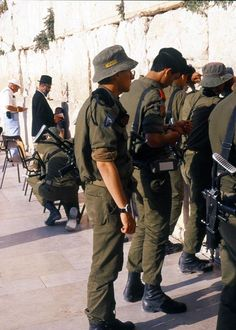 Soldiers of prayer . Jerusalem