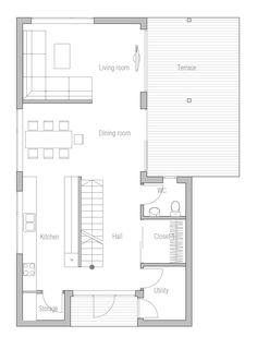 Change to 2/3  = kitchen, DR, LR and  1/3 = entry, storage, stair, powder, den.