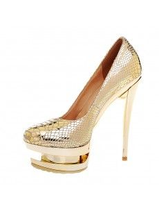 Women's Snake skin two platform high heels dress shoes