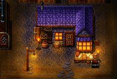 http://pinkfirefly.deviantart.com/art/Wizard-House-201193803