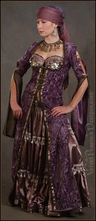 Purple Gypsy Outfit