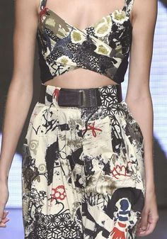 patternprints journal: PRINTS, PATTERNS AND SURFACES FROM NEW YORK FASHION WEEK (WOMAN COLLECTIONS SPRING/SUMMER 2015) / Donna Karan
