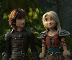 LORD GIVE ME STRENGTH!! Look at how Hiccup is looking at Astrid!!! Help me!!