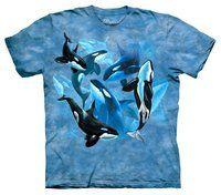 Tee Shirt Orque - Orca Collage