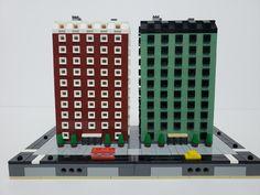 #micropolis #afol #lego #moc | by @AntRadBricks Micro Lego, Lego Architecture, Lego Moc, Mini, Photos, Lego City, Cities, Pictures