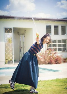 Nanase Nishino Japanese Beauty, Japan Fashion, Pretty Girls, Korean Fashion, Eye Candy, Tulle, Ballet Skirt, Kawaii, Actresses