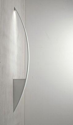 LED powder coated aluminium wall lamp SURFIN | Wall lamp - millelumen #ledlamp