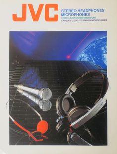 Retro Ads, Stereo Headphones, Audio, Technology, Vintage, Helmets, Tech, Tecnologia, Vintage Ads