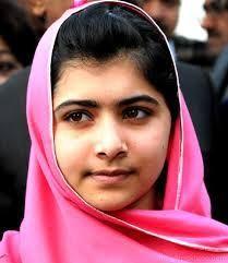 Malala Nacida en Mingora, Pakistán, 12 de julio de 1997) es una estudiante, activista y bloguera pakistaní. Ganadora del Premio Nobel de la Paz en 2014,1 es la persona más joven galardonada con ese premio en cualquier categoría.2 3