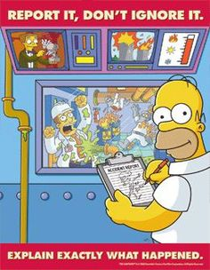 Completed -SafetyEmporium.com: The Simpsons Safety Posters