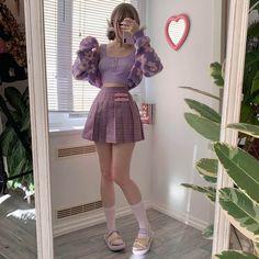 Kawaii Fashion, Cute Fashion, Girl Fashion, Fashion Sale, Cute Casual Outfits, Pretty Outfits, Teen Fashion Outfits, Girl Outfits, Kawai Japan