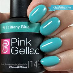Pink Gellac Tiffany Blue