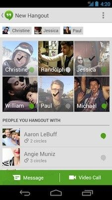 Google Hangouts for Android update finally lets you know who is signed in - http://www.aivanet.com/2013/09/google-hangouts-for-android-update-finally-lets-you-know-who-is-signed-in/