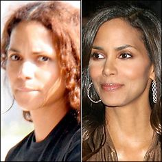 Halle Berry Stars Without Makeup!