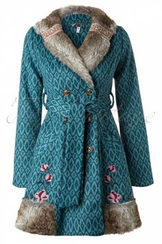 Blutsgeschwister - Retro Blue Oriental Treasure Coat