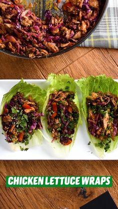 Healthy Meal Prep, Healthy Snacks, Healthy Eating, Healthy Recipes, Asian Recipes, New Recipes, Cooking Recipes, Wrap Recipes, Appetizer Recipes