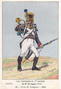 8eme-hornist-of-voltigeur-kompanie-1813