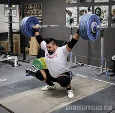 A starter Olympic weightlifting program to prepare you to do the Catalyst Athletics online training program