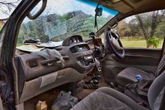 How to get rid of bad car interior odours