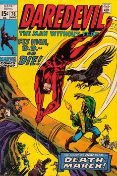 Cover for Daredevil (Marvel, May 1971) #76 [Regular Edition]
