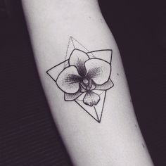 My new orchid tattoo