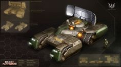Helios Beam Tank by MikeDoscher