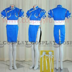 Chun Li Cosplay Costume from Street Fighter - Tailor-Made Cosplay Costume