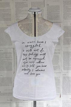 jane austin + tshirt