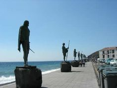 Los guanches, Candelaria, Tenerife.