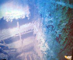 Titanic Grand staircase wreck
