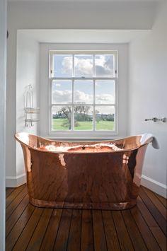Eastcourt-Michaelis-Boyd-Associates-Wiltshire-Architect-003 Modern Luxury Bathroom, Bathroom Design Luxury, Beautiful Bathrooms, Luxurious Bathrooms, Dream Bathrooms, Gold Bathroom, Bathroom Wall Decor, Small Bathroom, Bathroom Ideas