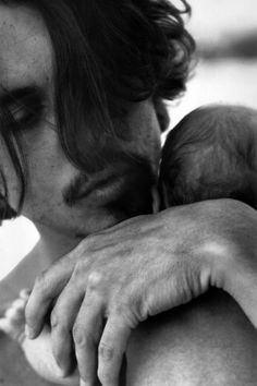 Johnny Depp and his baby