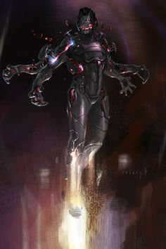 Concept Art World — Check out Avengers: Age of Ultron Concept Art by. Marvel Villains, Marvel Dc Comics, Marvel Heroes, Marvel Comic Character, Marvel Characters, Character Art, Character Design, Marvel Concept Art, Concept Art World