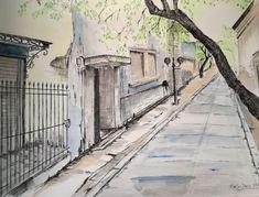 Athens, Sidewalk, Facebook, Gallery, Artist, Walkways, Athens Greece, Pavement, Amen