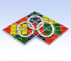Rubik's Magic Puzzle was designed with illusion in mind. By folding the 8 connected square panels in different directions and opening them up again… find out whether you can link the 3 floating rings together. Its design of interconnected panels causes the challenge to solve the floating rings or create a variety of 3D shapes.   Slightly more than 8 inches in length and 4 inches in width, this portable puzzle is ideal for developing memory and problem solving skills. It is packaged and made ...
