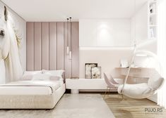 Luxury Kids Bedroom, Luxury Bedroom Design, Room Design Bedroom, Bedroom Decor For Teen Girls, Home Room Design, Kids Room Design, Small Room Bedroom, Home Decor Bedroom, Big Bedrooms