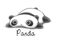 baby cartoon panda