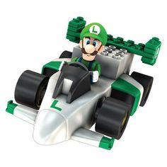 K'Nex Mario Kart Wii Motorized Kart Building Set [Luigi]
