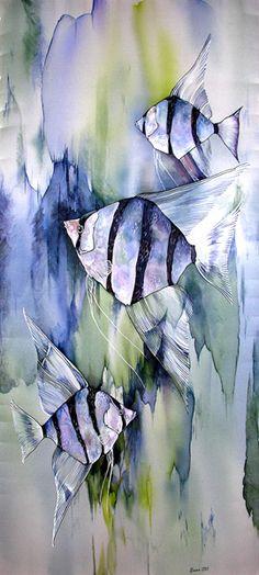 Thad Furguson artist   nature   painting   abstract