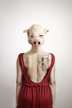 vanity fear by mickiky, via Flickr front and back illusion photography
