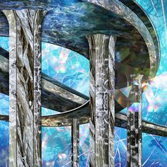 Surreal Digital Photo Collages Open A Portal To An Alternative Universe