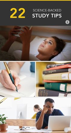 22 Science-Backed Study Tips to Ace a Test #study #college #tips